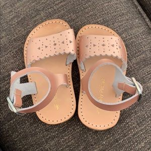 Laguna Baby Toddler Little Girl Leather Sandals